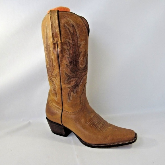 57a44b84c8ba2 Lucchese Shoes - LUCCHESE CHARLIE 1 Sz 7 Tan Boots Shoes For Women